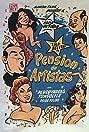 Pensión de artistas (1956) Poster