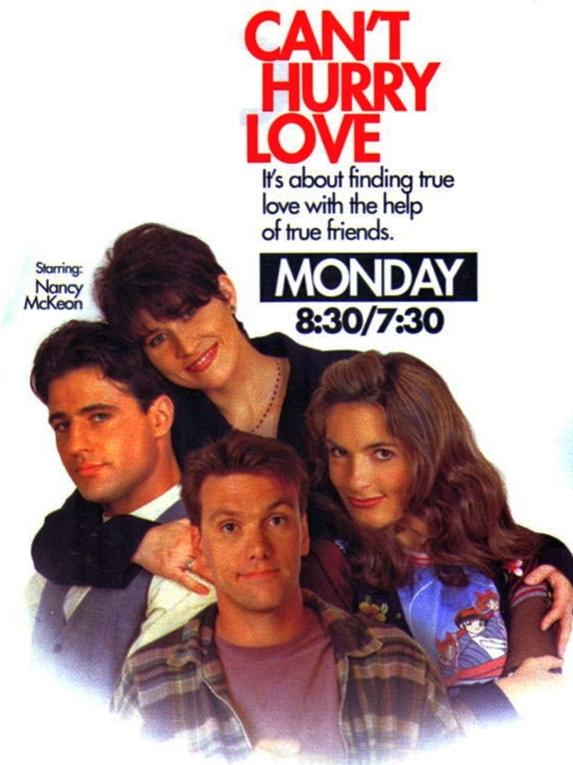 Nancy McKeon, Mariska Hargitay, Kevin Crowley, and Louis Mandylor in Can't Hurry Love (1995)