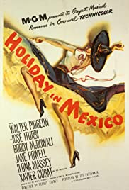 Holiday in Mexico Poster