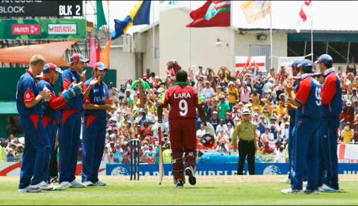 48th Match (Super Eights): England vs West Indies (2007)