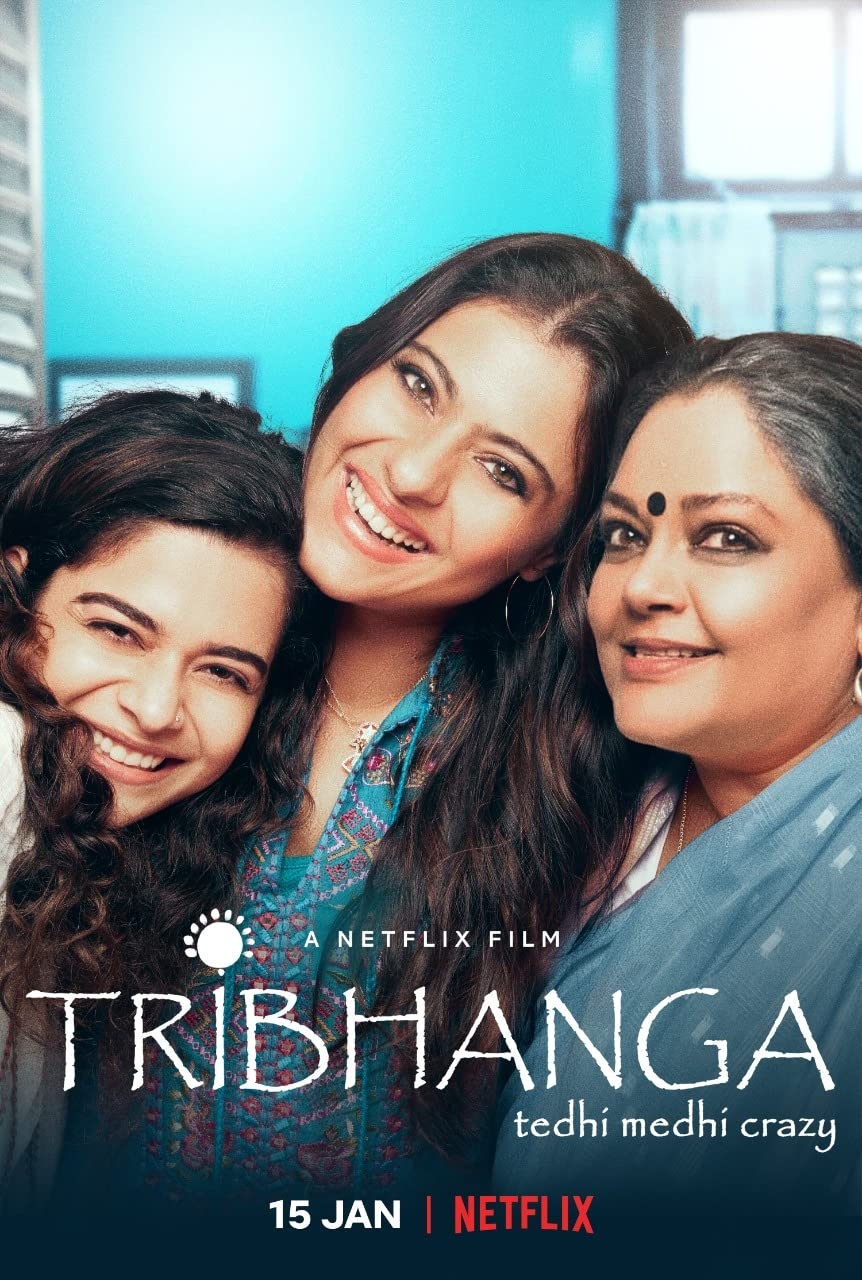 Tribhanga 2021 Hindi 480p NF HDRip x265 AAC ESubs 250MB