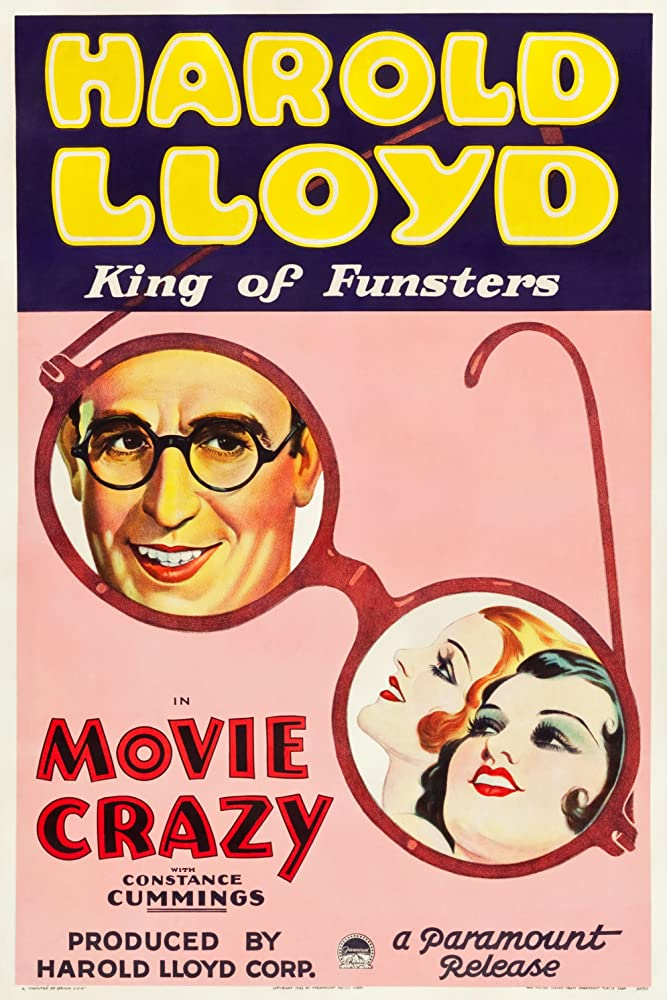 Constance Cummings, Mary Doran, and Harold Lloyd in Movie Crazy (1932)