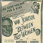 Lionel Barrymore, Van Johnson, and Marilyn Maxwell in Between Two Women (1945)