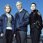 Martin Landau, Jodi Lyn O'Keefe, and Anita Briem in The Evidence (2006)
