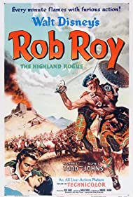 Glynis Johns and Richard Todd in Rob Roy: The Highland Rogue (1953)