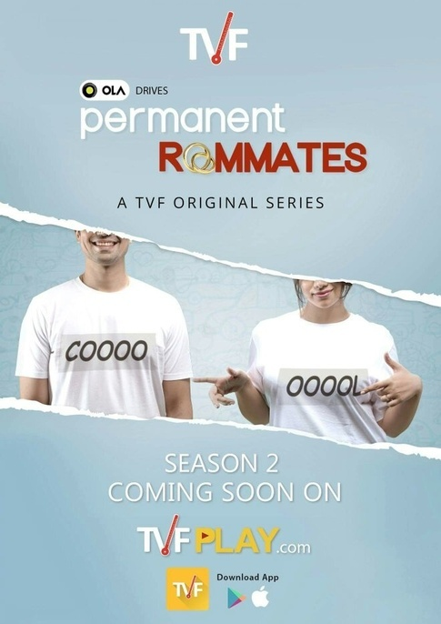 TVF Permanent Roommates 2016 Hindi Season 2 Complete 720p HDRip 2.9GB Download