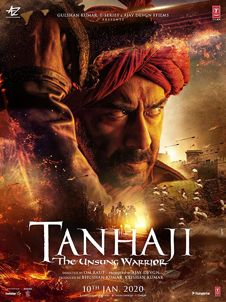 Tanhaji The Unsung Warrior (2020) Hindi 480p PreDVD x264 AAC 700MB | 400MB