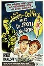 Boris Karloff, Bud Abbott, Lou Costello, and Helen Westcott in Abbott and Costello Meet Dr. Jekyll and Mr. Hyde (1953)
