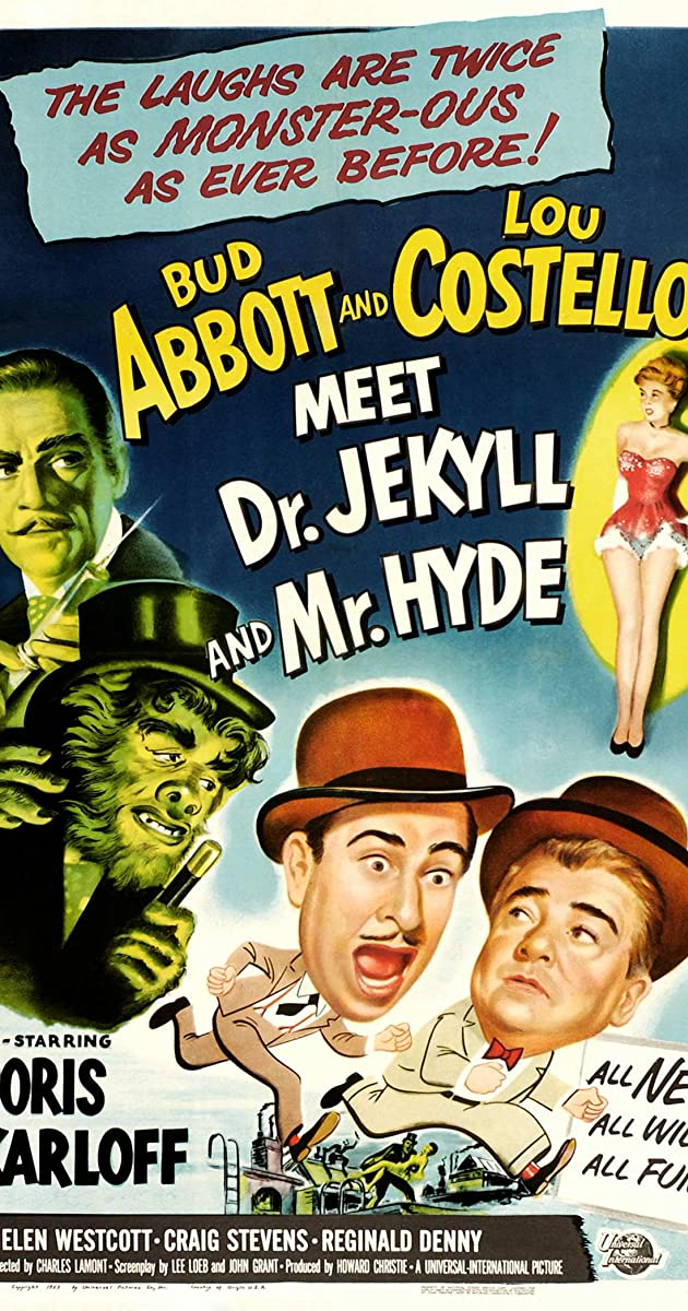 Subtitle of Abbott and Costello Meet Dr. Jekyll and Mr. Hyde