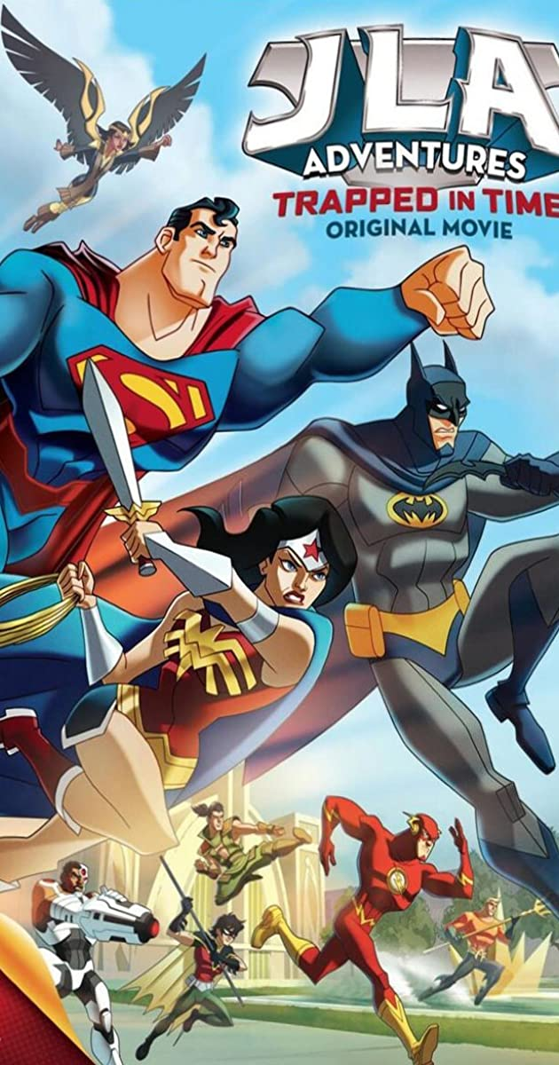 Subtitle of JLA Adventures: Trapped in Time