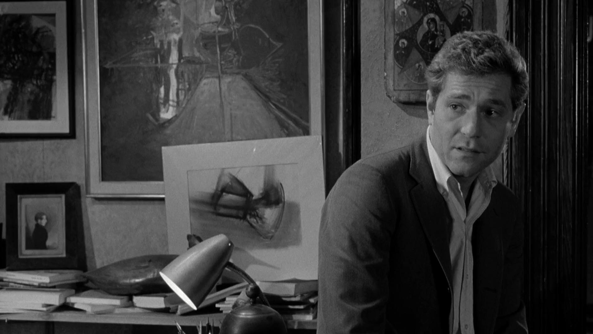 George Segal in Who's Afraid of Virginia Woolf? (1966)