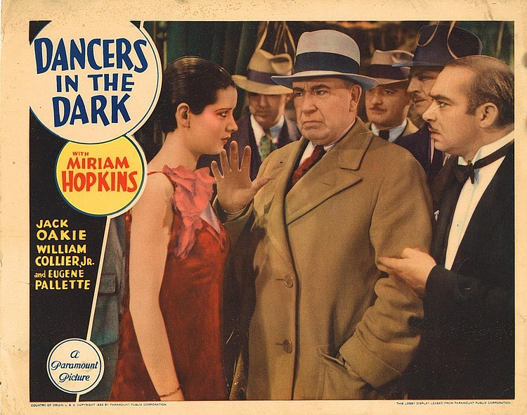 Maurice Black, Adelaide Hall, and DeWitt Jennings in Dancers in the Dark (1932)