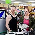 Jonathan Tucker and Danielle Macdonald in Skin (2018)