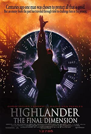 watch Highlander: The Final Dimension full movie 720