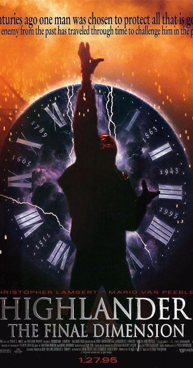 Subtitle of Highlander: The Final Dimension