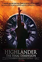 Primary image for Highlander: The Final Dimension