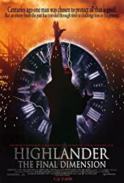 Highlander: The Final Dimension Poster
