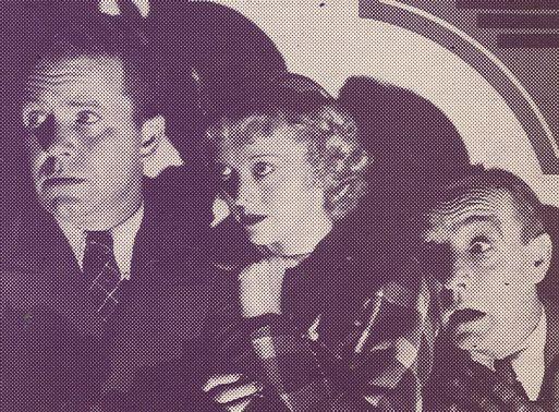 'Snub' Pollard, Sheila Terry, and Regis Toomey in Bars of Hate (1935)