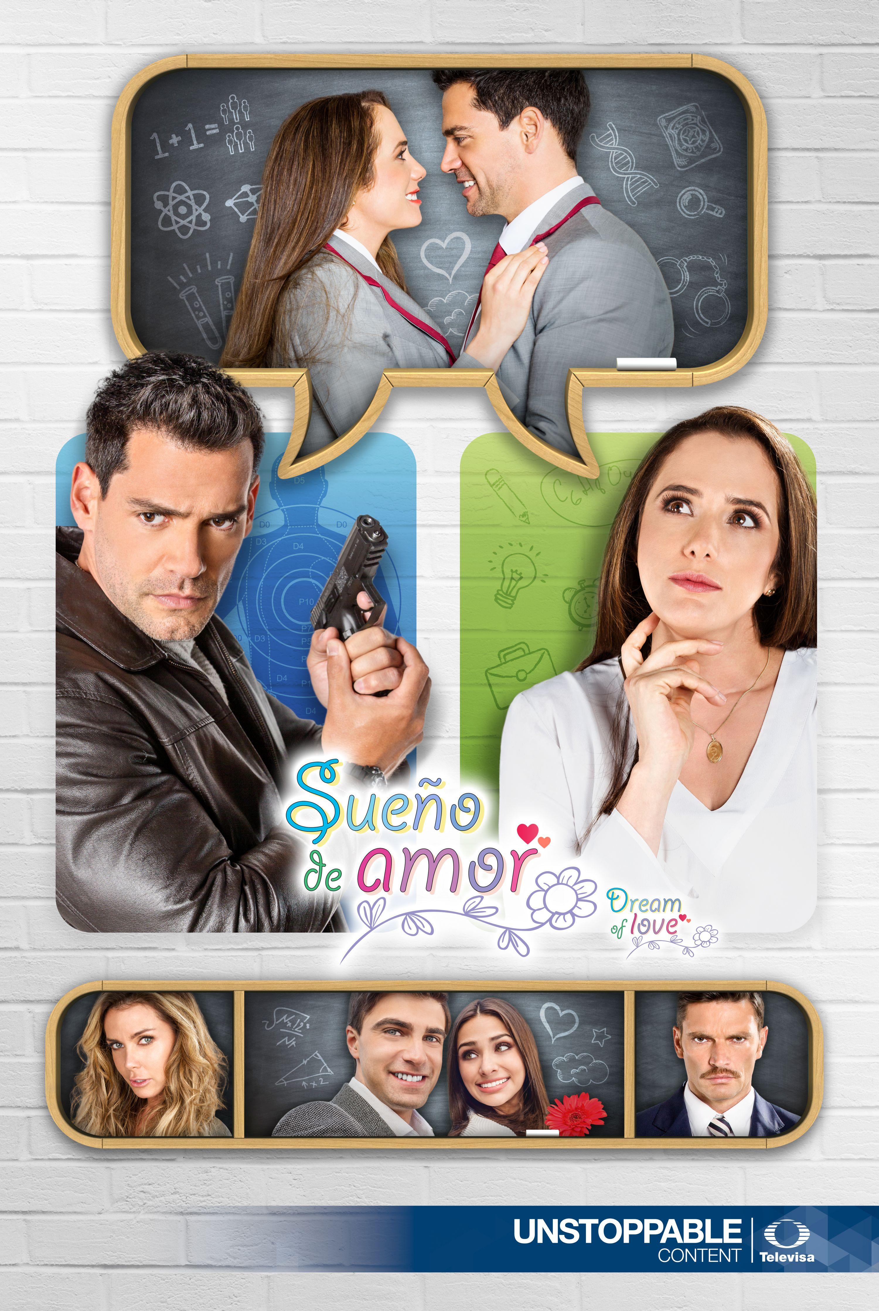 Betty Monroe, Sabine Moussier, Julián Gil, Renata Notni, Santiago Ramundo, and Cristian de la Fuente in Sueño de amor (2016)