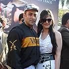 Salman Khan and Zareen Khan at an event for Veer (2010)