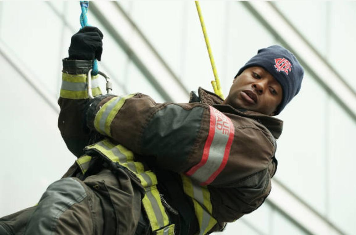 Kamal Bolden as 'Kannell' in CHICAGO FIRE