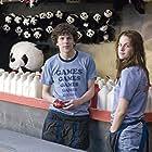 Jesse Eisenberg and Kristen Stewart in Adventureland (2009)