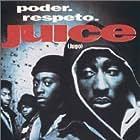 Tupac Shakur, Omar Epps, Jermaine Hopkins, and Khalil Kain in Juice (1992)