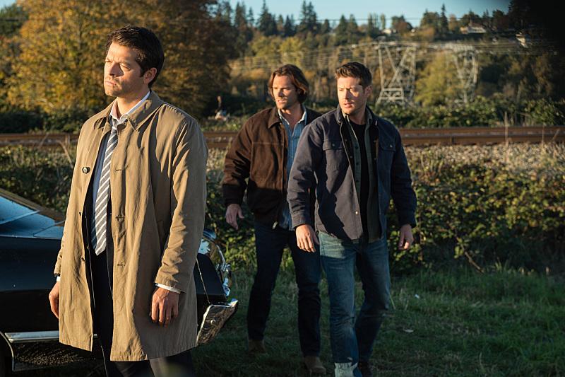 Jensen Ackles Misha Collins And Jared Padalecki In Supernatural 2005