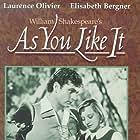 Laurence Olivier and Elisabeth Bergner in As You Like It (1936)