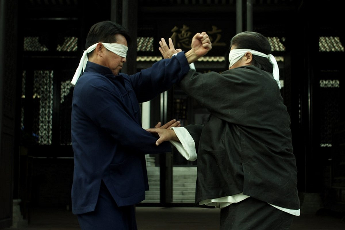 Sammo Kam-Bo Hung and Biao Yuen in Yip Man chin chyun (2010)