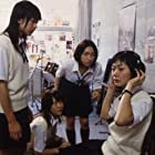 Bae Doona, Aki Maeda, Yû Kashii, and Shiori Sekine in Linda Linda Linda (2005)