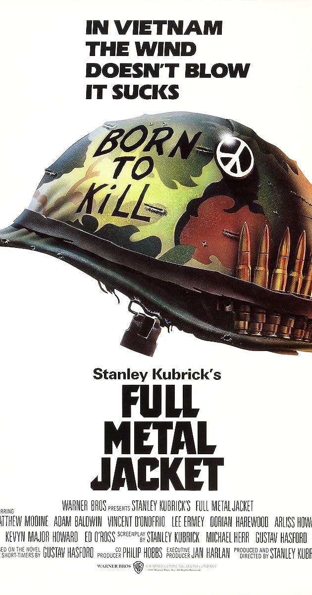 Metalinis apvalkalas / Full Metal Jacket (1987)