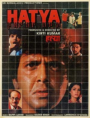 Kader Khan (dialogue) Hatya Movie
