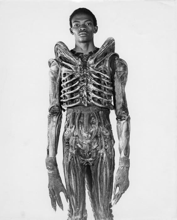 Alien costume - the story behind the picture of the iconic film.......