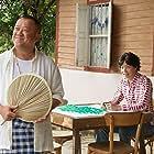 Mark Lee and Eric Tsang in King of Mahjong (2015)