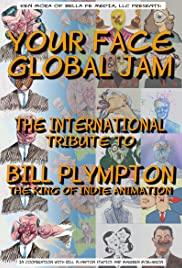 Your Face Global Jam Poster