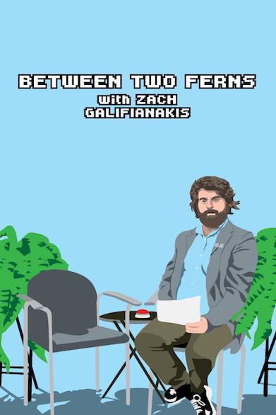 دانلود زیرنویس فارسی سریال Between Two Ferns with Zach Galifianakis