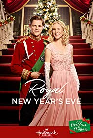 Sam Page and Jessy Schram in Royal New Year's Eve (2017)