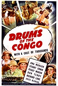Dorothy Dandridge, Stuart Erwin, Peggy Moran, Ona Munson, and Don Terry in Drums of the Congo (1942)