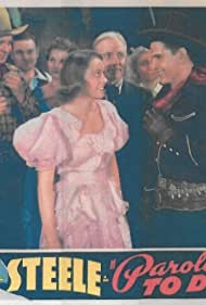 Steve Clark, Kathleen Eliot, Rose Plumer, Bob Steele, and Jack Hendricks in Paroled - To Die (1938)