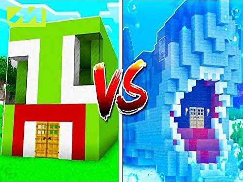 Clip: unspeakable house vs jaws shark house