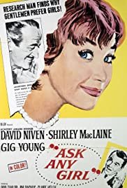 Ask Any Girl (1959) Poster - Movie Forum, Cast, Reviews