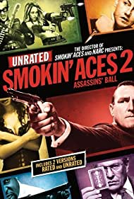 Tom Berenger, Vinnie Jones, Tommy Flanagan, Maury Sterling, Autumn Reeser, Martha Higareda, and Christopher Michael Holley in Smokin' Aces 2: Assassins' Ball (2010)