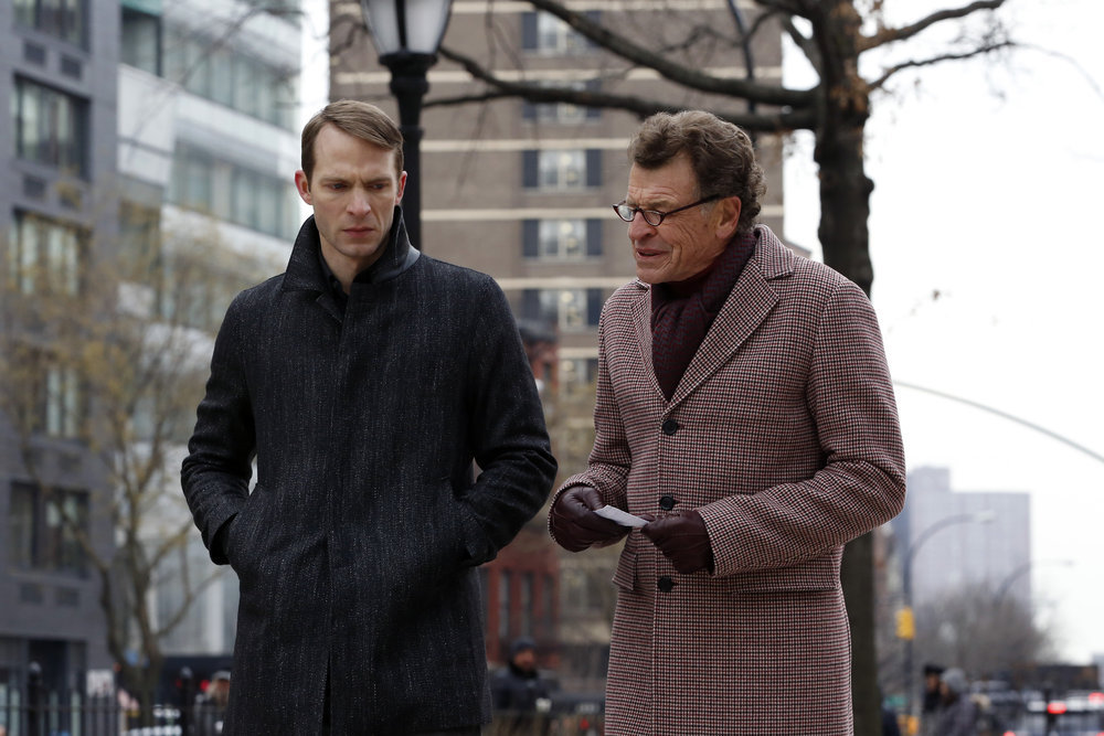 John Noble and David Call in The Blacklist (2013)