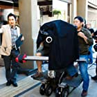 Director Jeffrey Gee Chin on 1st Street Little Tokyo with his crew.