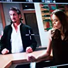 """monitor caption on the set of """"Americans"""" with Sean Penn"""
