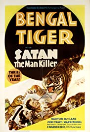 Bengal Tiger (1936) starring Barton MacLane on DVD on DVD