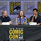 Nathan Fillion, Joss Whedon, and Felicia Day at an event for Dr. Horrible's Sing-Along Blog (2008)