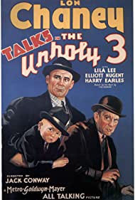 Lon Chaney, Harry Earles, and Ivan Linow in The Unholy Three (1930)