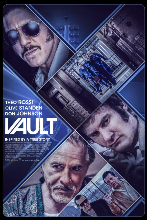 Vault (2019) English 720p HDRip 800MB x264 ESubs